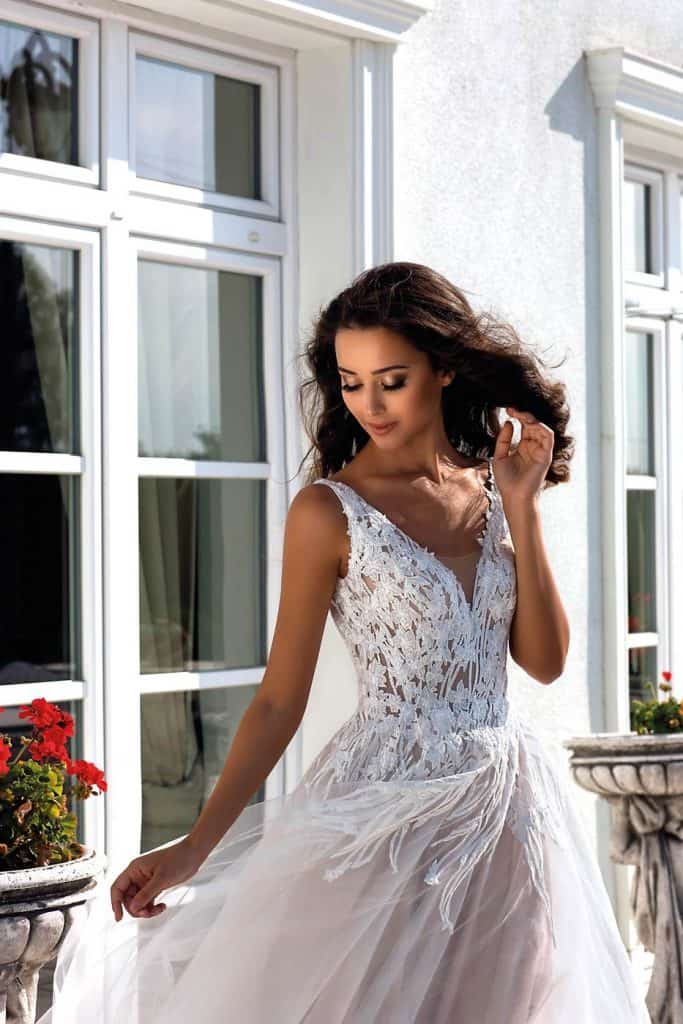 Brautmode Tina Valerdi | Brautkleid Dante