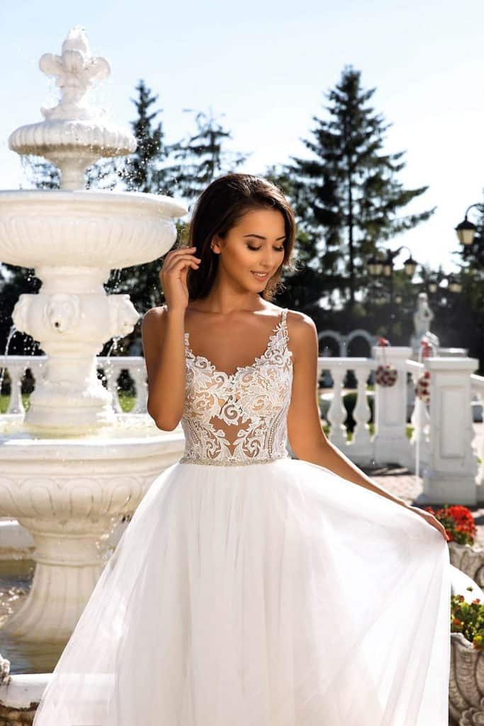 Brautmode Tina Valerdi | Brautkleid Darcey