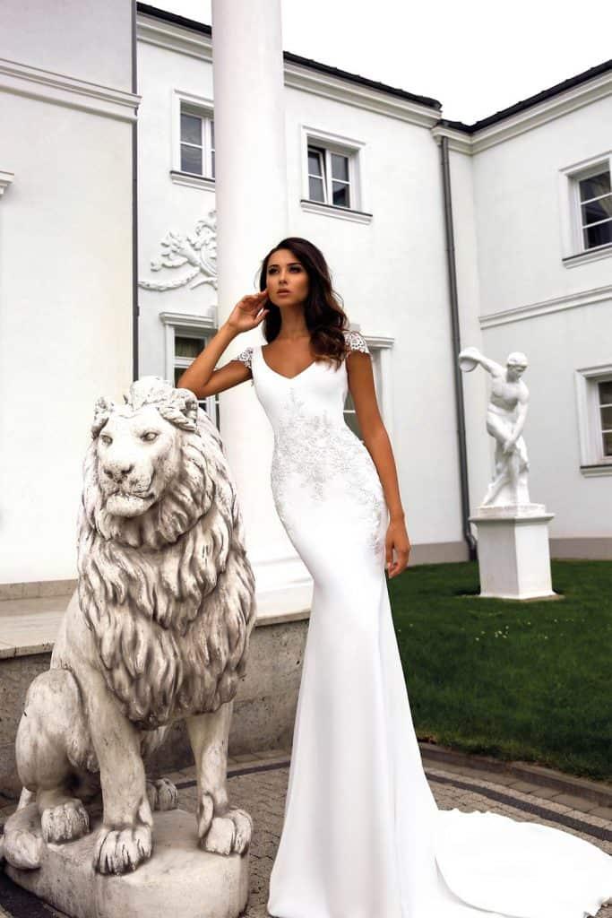 Brautmode Tina Valerdi | Brautkleid Luna