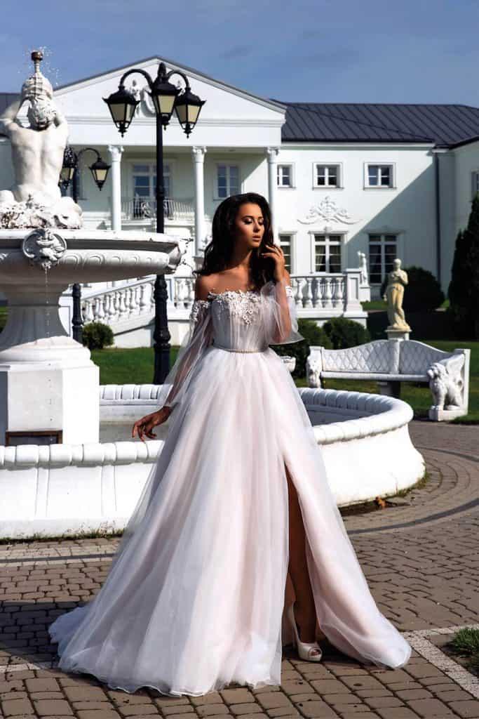 Brautmode Tina Valerdi | Brautkleid Monroe