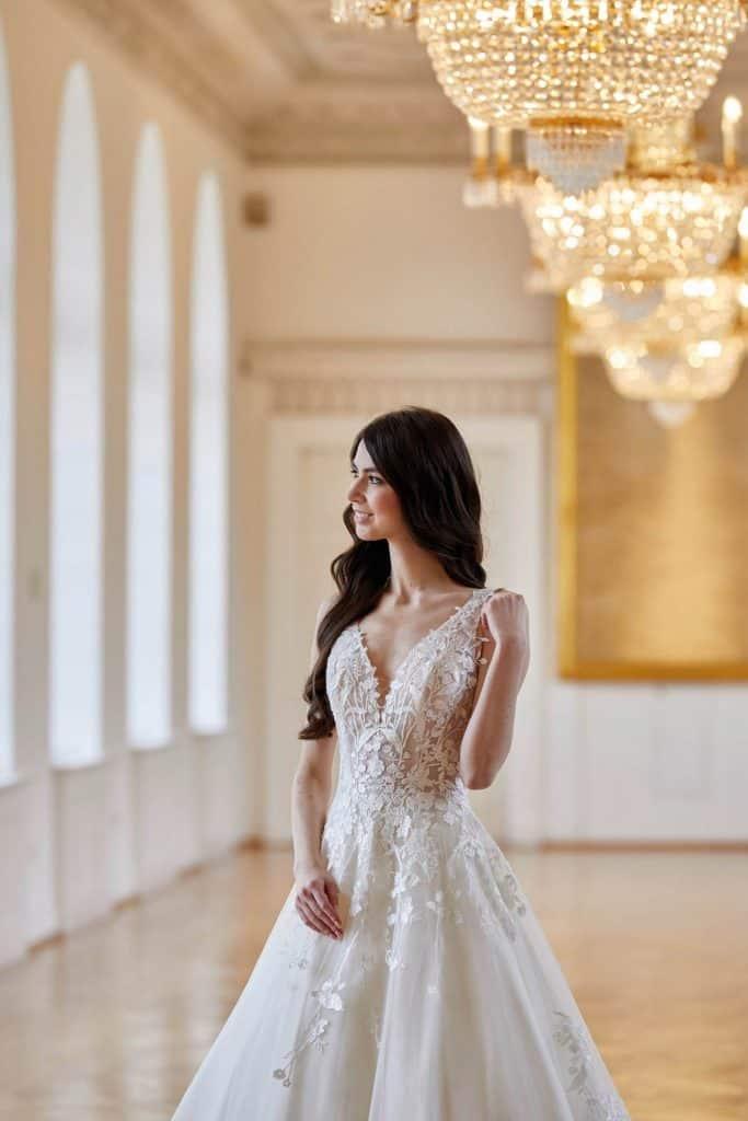 Brautmode Lisa Donetti Deluxe | Brautkleid 50440