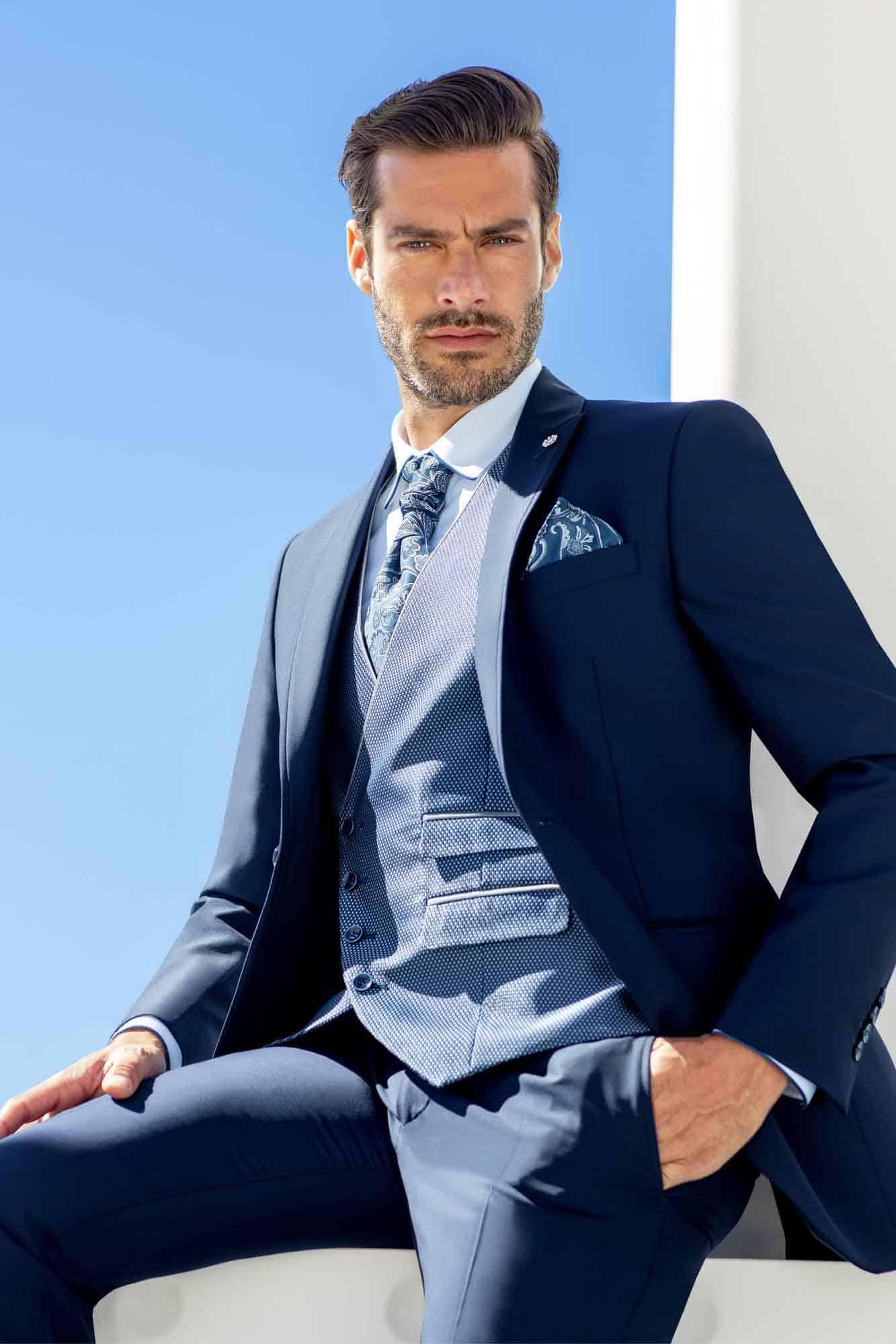 Bräutigam Mode   Blau   Anna Moda