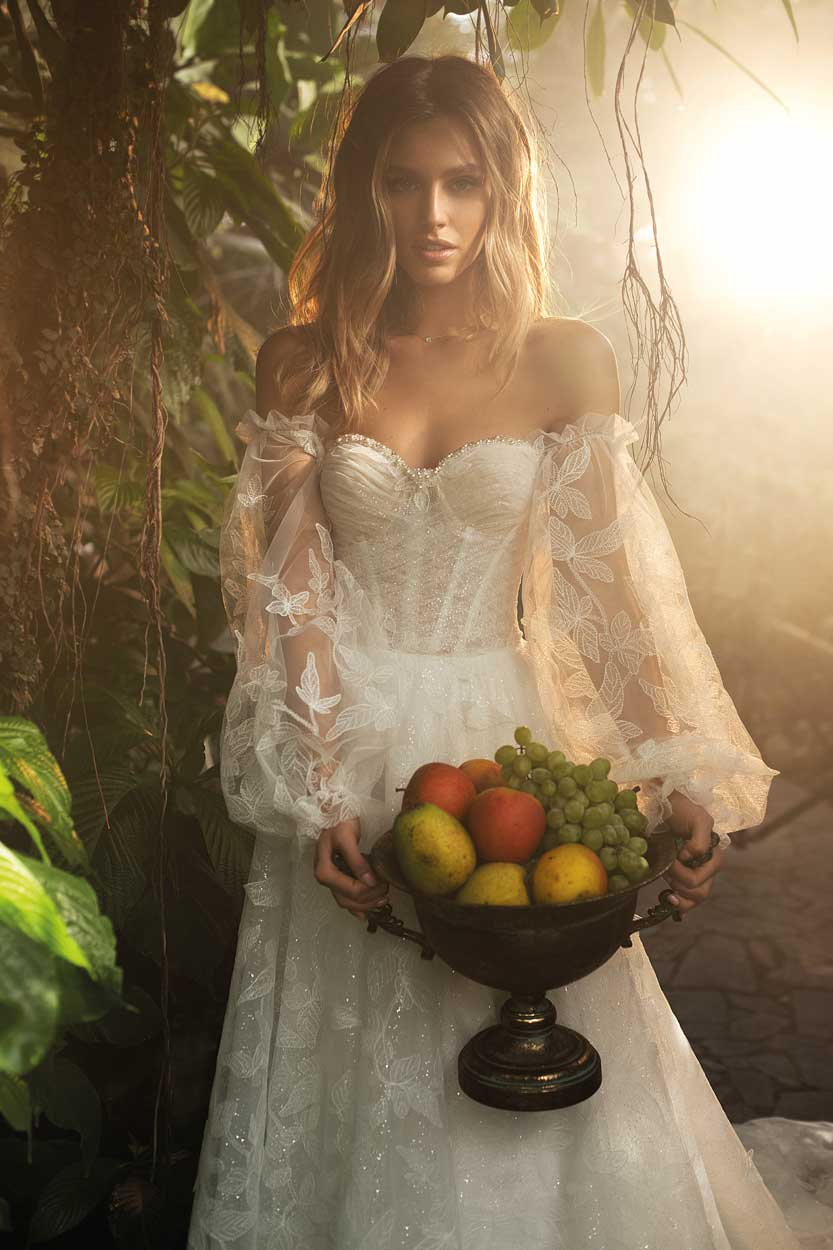 Brautkleider Kollektion Jasmine Empire