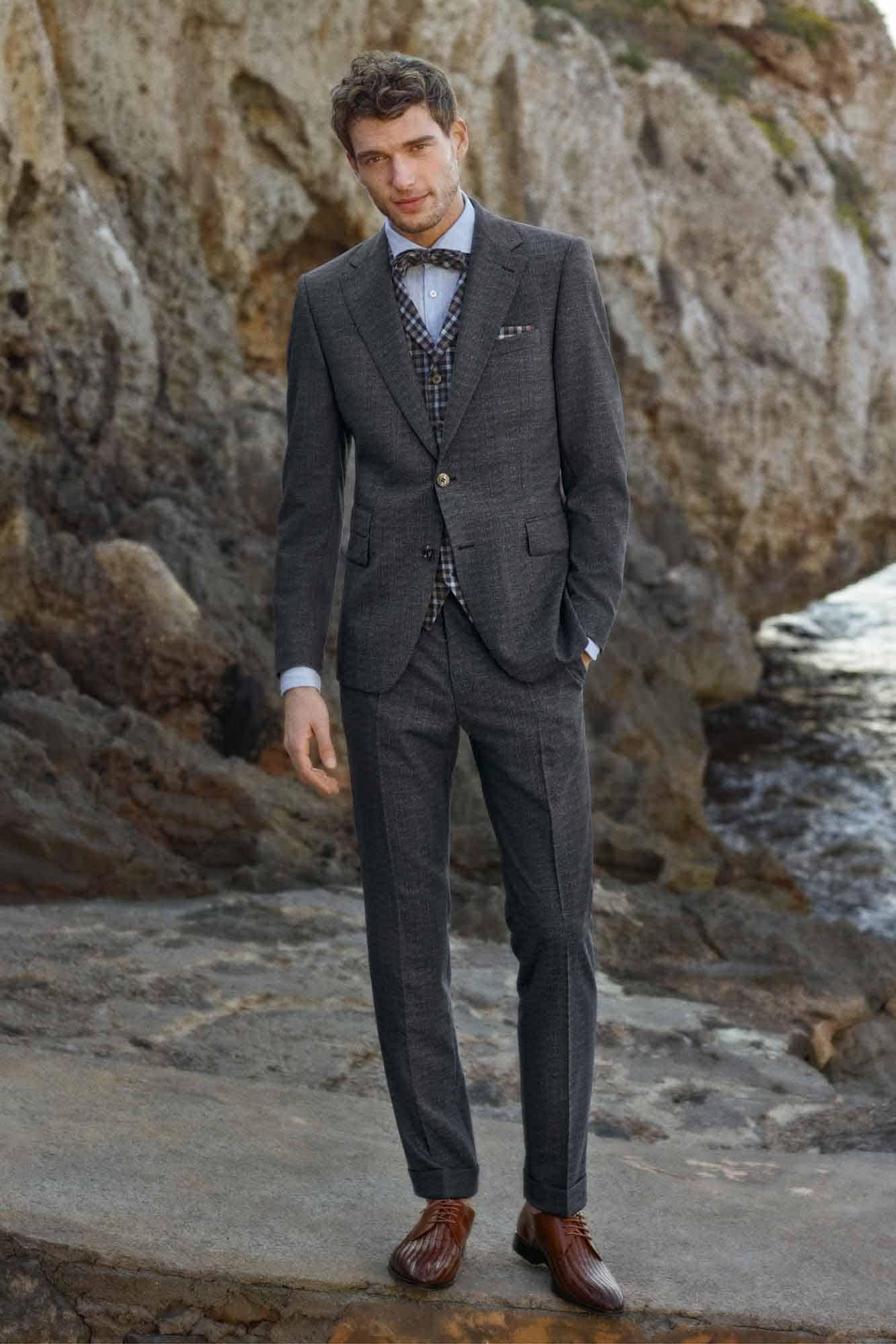 Bräutigam Mode   Grau   Anna Moda