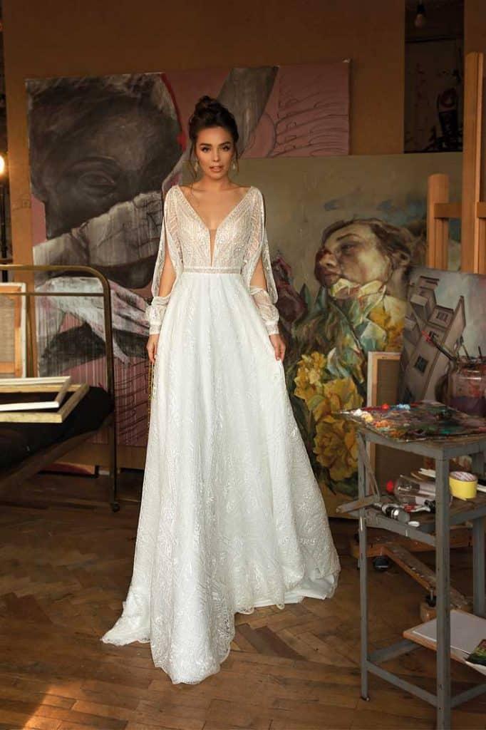 Brautmode Jasmine Empire | Brautkleid Marta