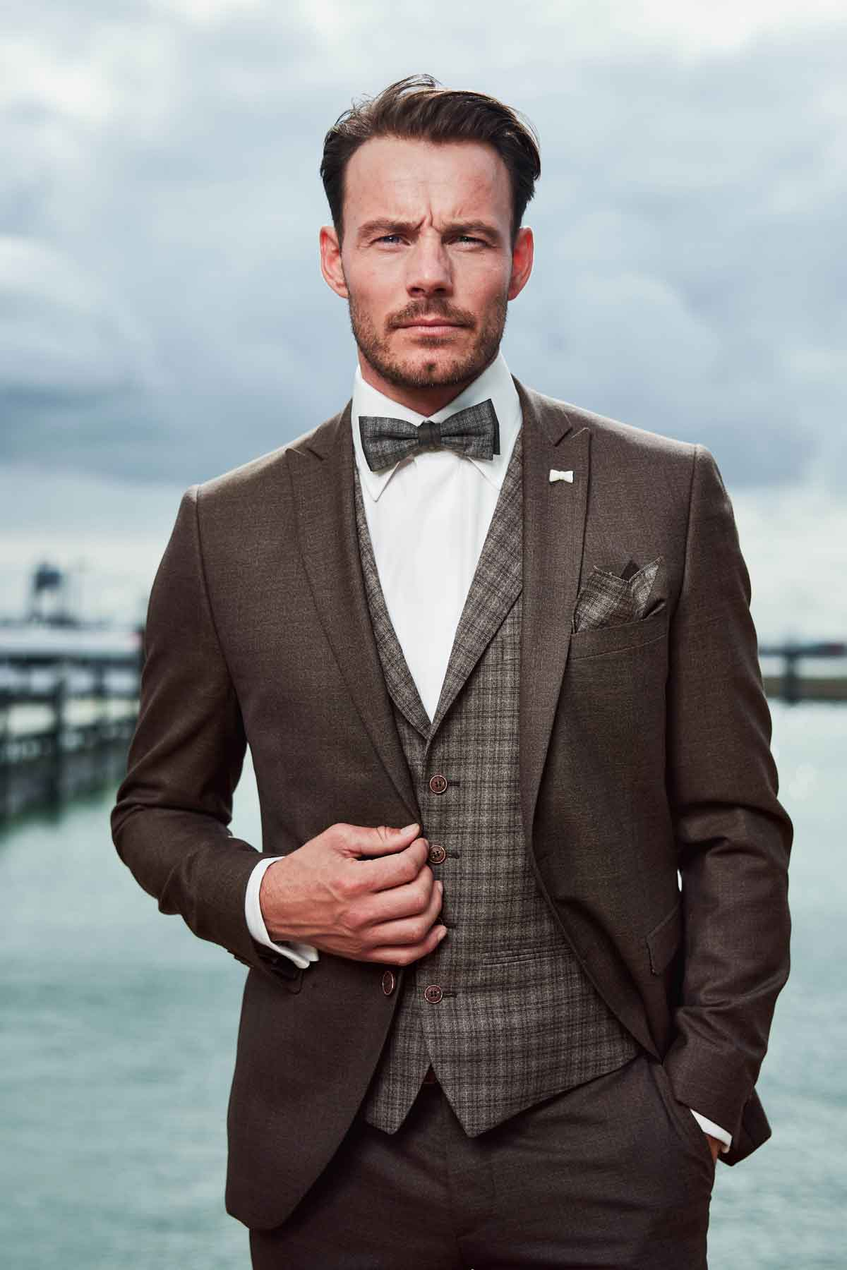 Bräutigam Mode | Braun | Anna Moda
