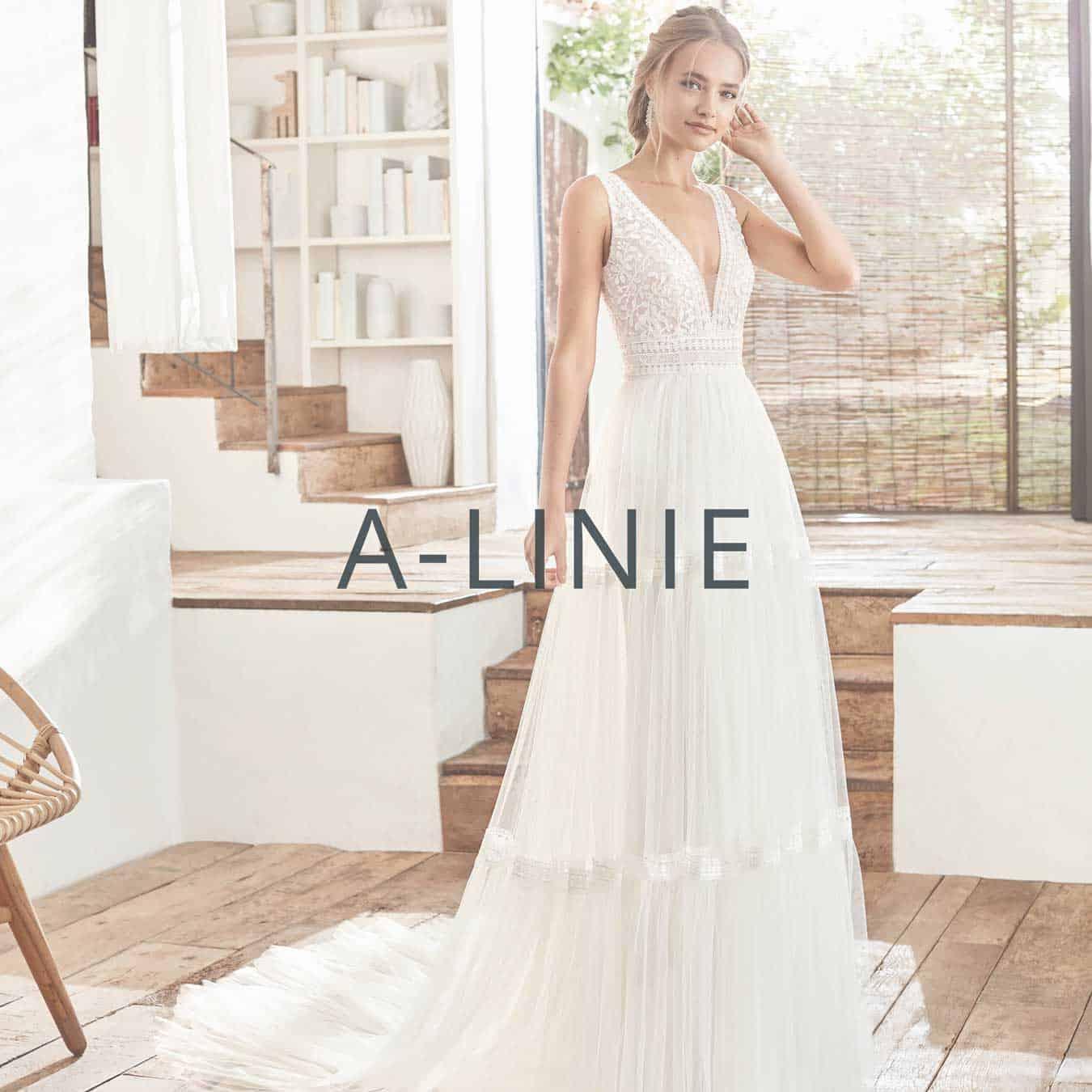 "Brautmoden Aachen Kollektion ""A-Linie"""