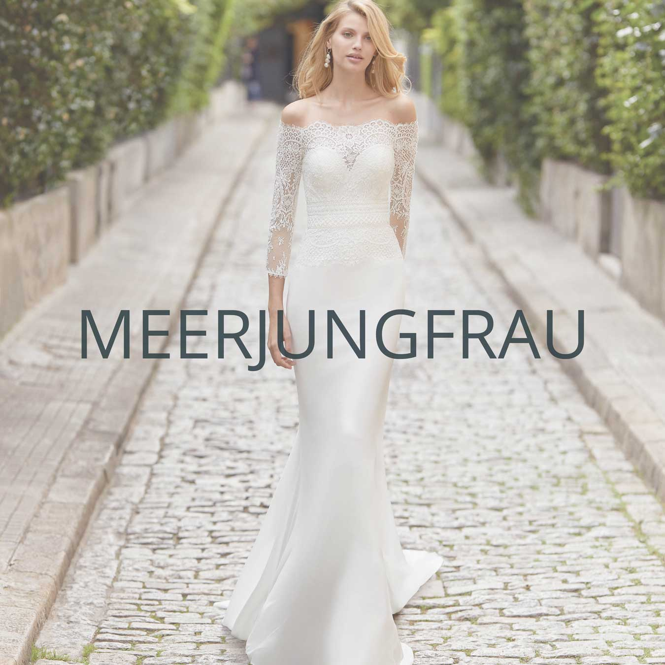 """Brautmoden Aachen Kollektion """"Meerjungfrau"""""""
