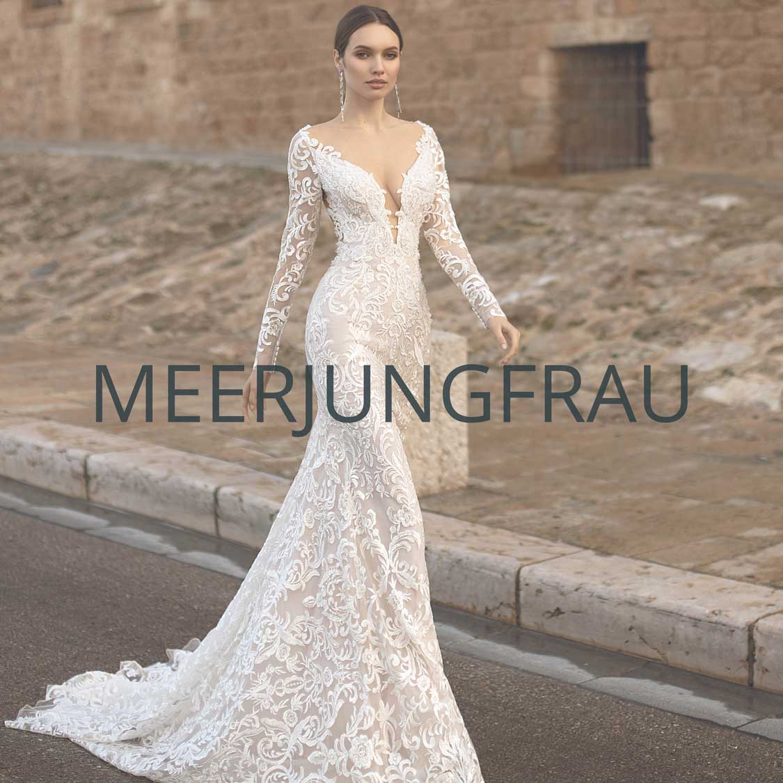 "Brautmoden Essen Kollektion ""Meerjungfrau"""