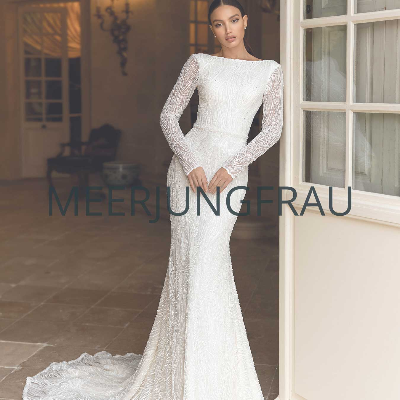 "Brautmoden Mönchengladbach Kollektion ""Meerjungfrau"""