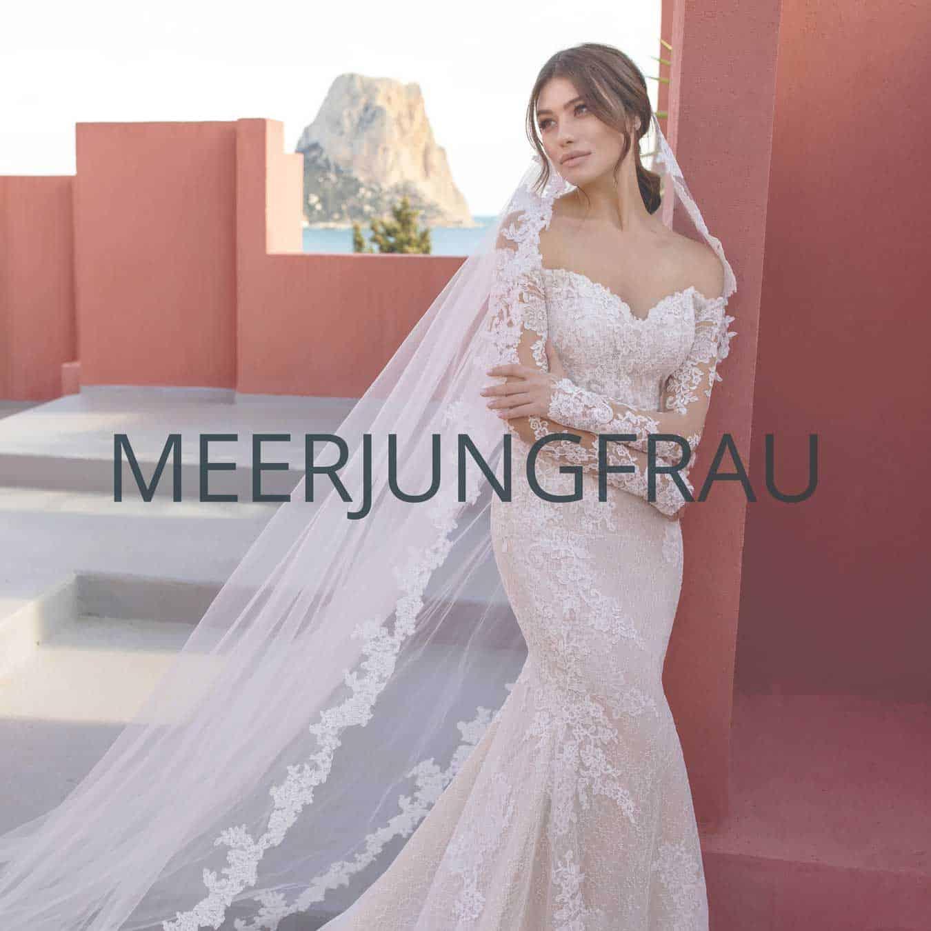 "Brautmoden Münster Kollektion ""Meerjungfrau"""