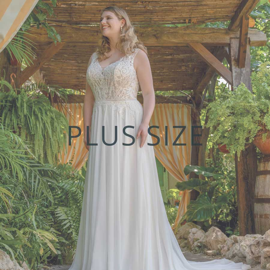 "Brautmoden Duisburg Kollektion ""Plus Size"""