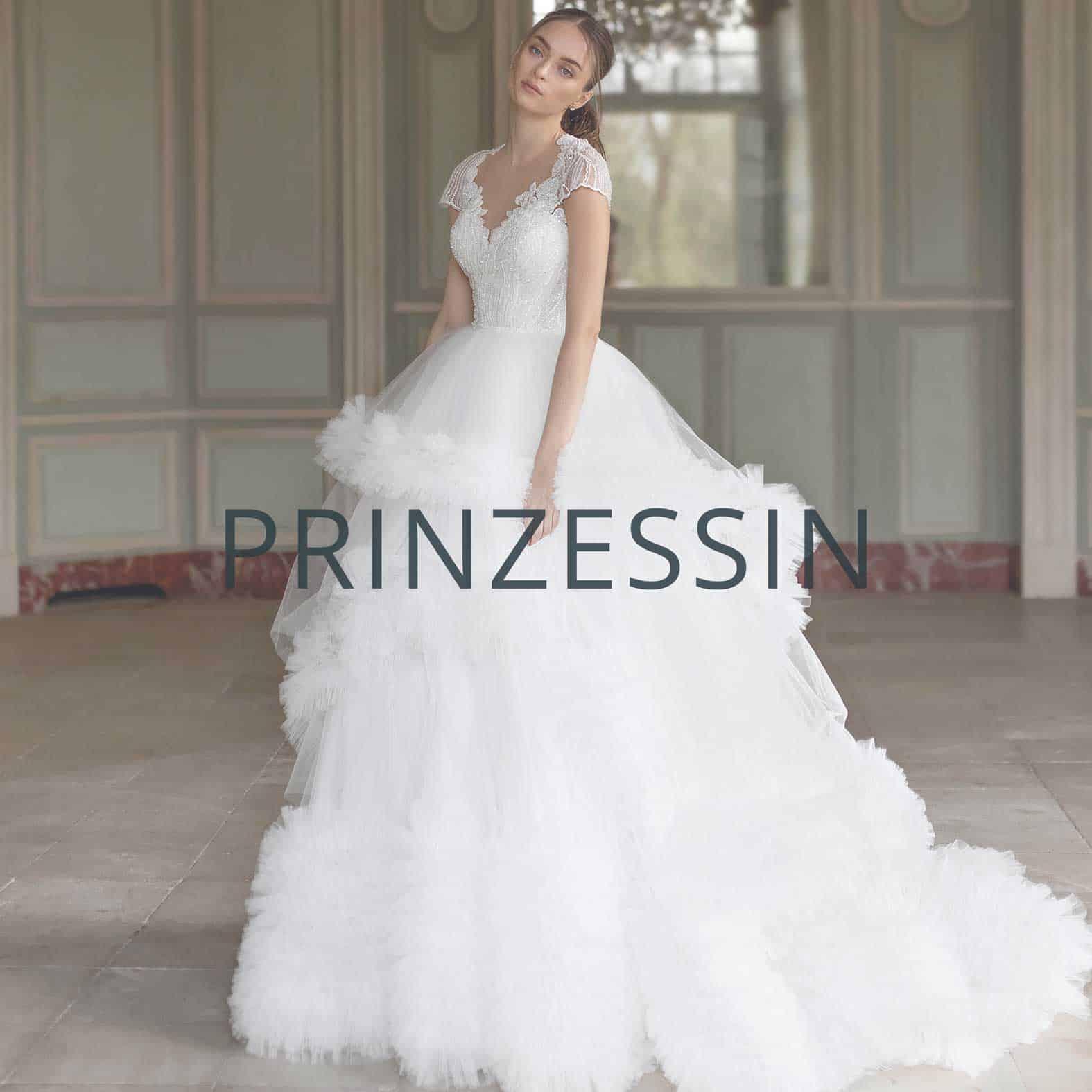"""Brautmoden Hagen Kollektion """"Prinzessin"""""""