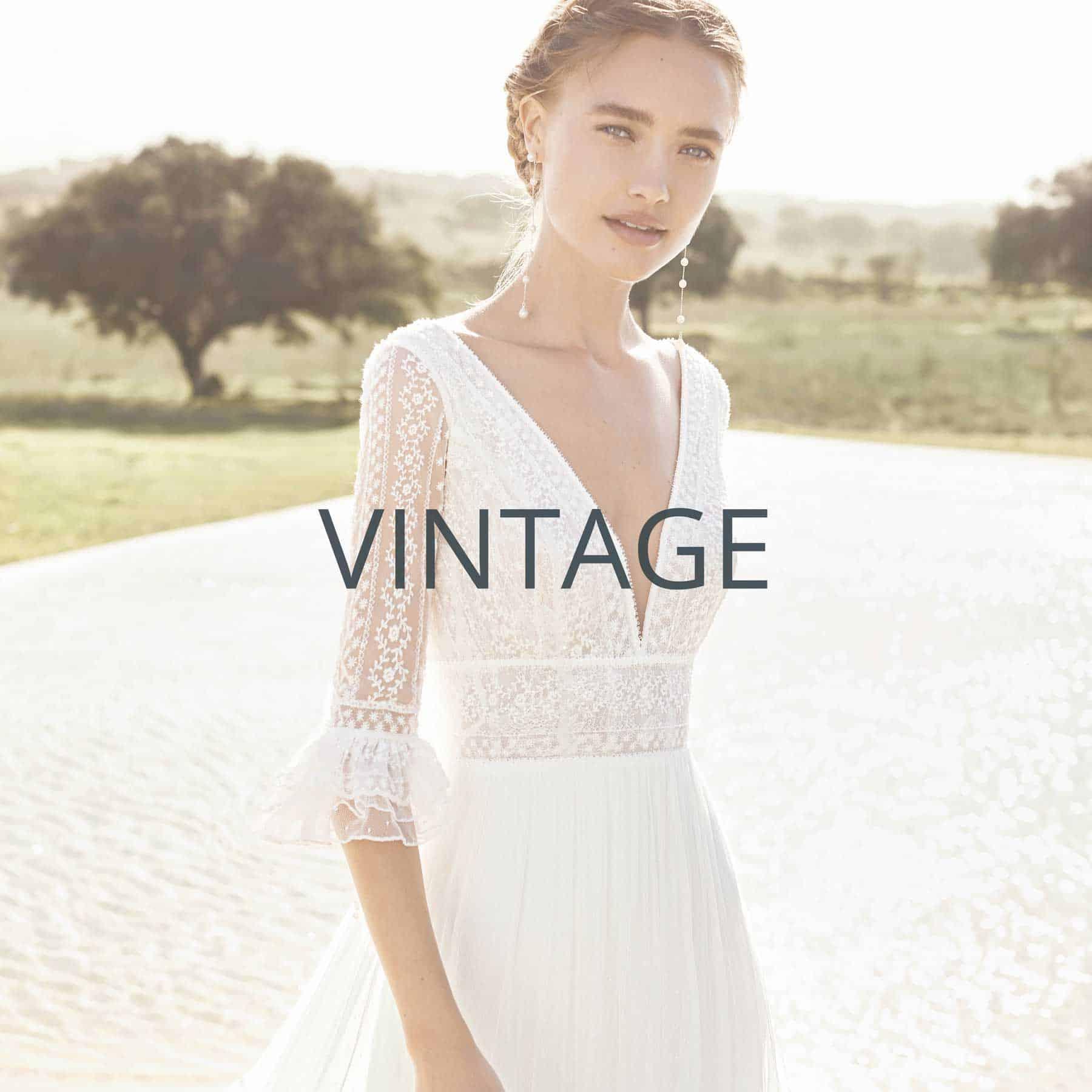 """Brautmoden Aachen Kollektion """"Vintage"""""""