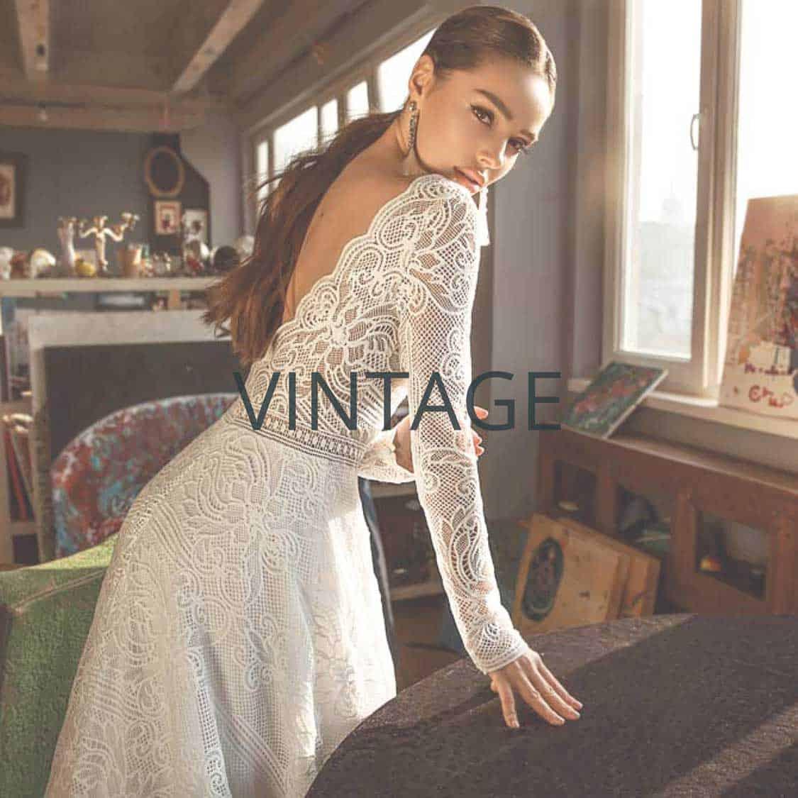"Brautmoden Mönchengladbach Kollektion ""Vintage"""