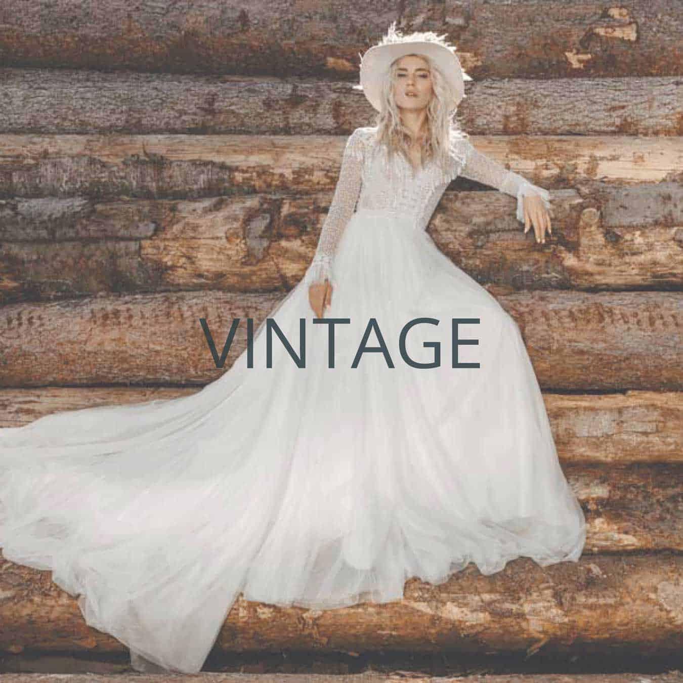 """Brautmoden Siegen Kollektion """"Vintage"""""""