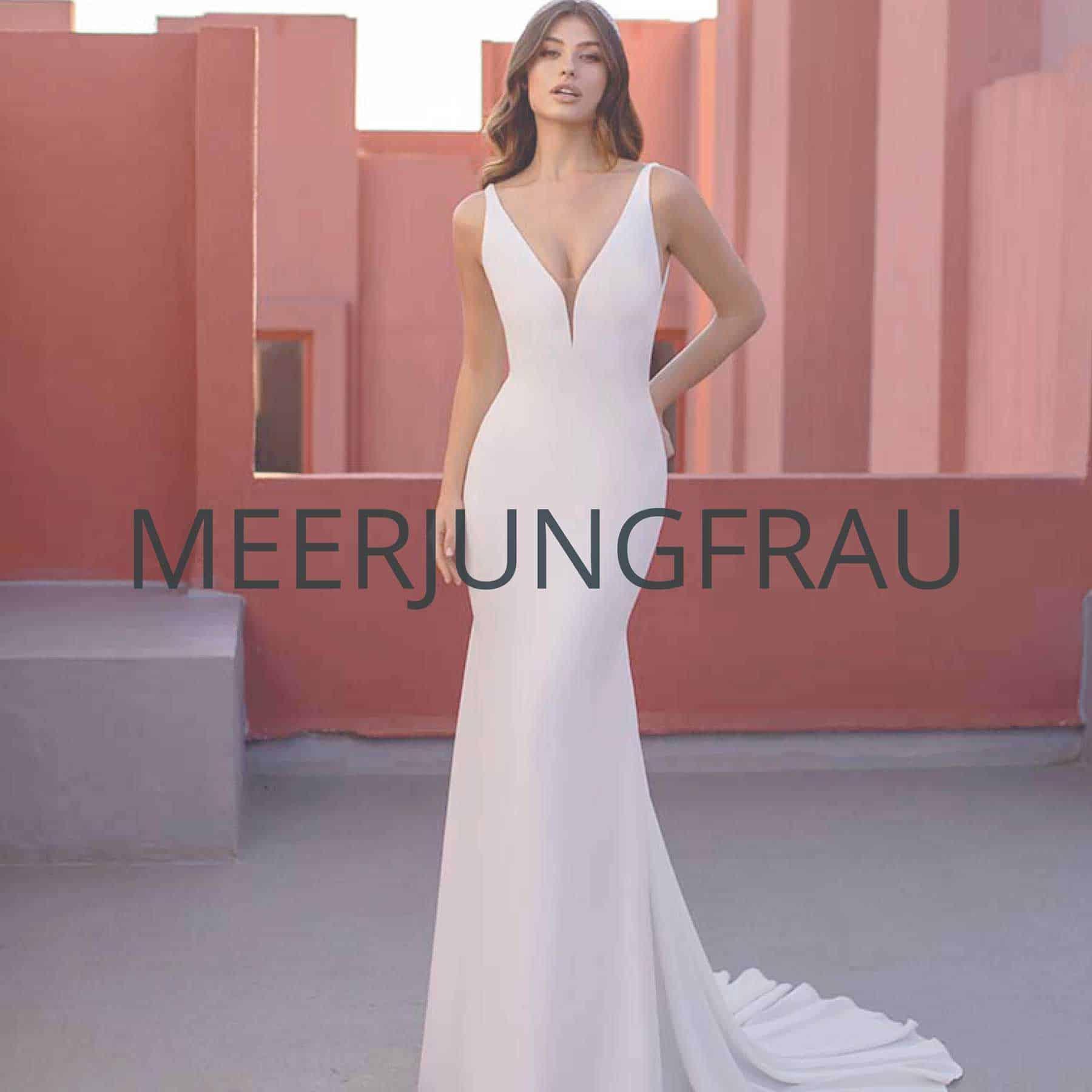 "Brautmoden darmstadt Kollektion ""Meerjungfrau"""
