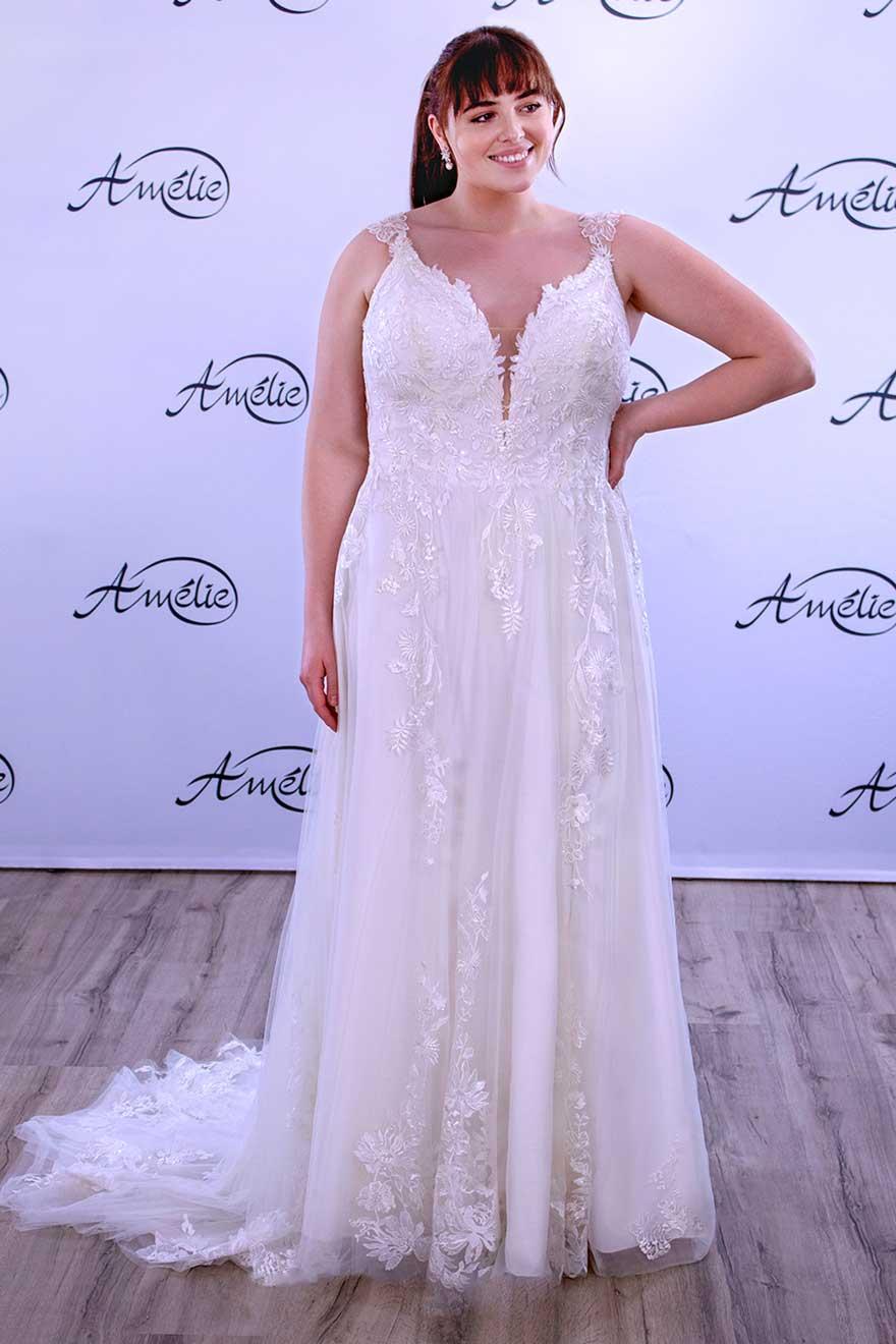 Brautmode Amelie | Brautkleid 30072