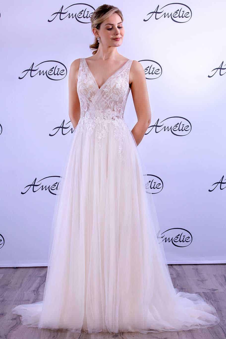Brautmode Amelie | Brautkleid 40029